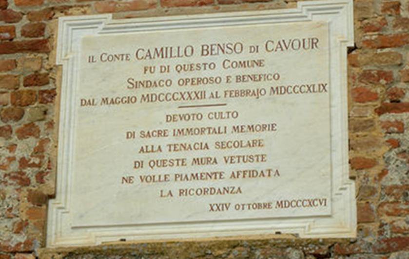 Lapide_Ricordo_Cavour